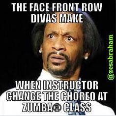 ZUMBA! I have so given this look to my Zumba instructor!!! LOL