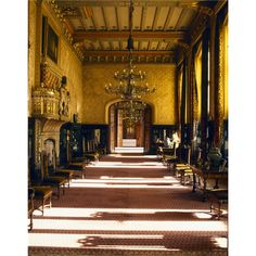 The Venetian Drawing Room at Carlton Towers. It was decorated by John Francis Bentley ~ Victorian room