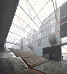 vandkunsten, architects: torpedohallen, naval shipyard conversion, holmen, copenhagen 1953 / 2000-2003 | Flickr - Photo Sharing!