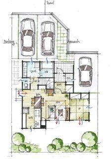 狭小地の都市型住宅