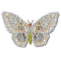 ZOOM DISEÑO Y FOTOGRAFIA  butterfly pearls and strass,png,free
