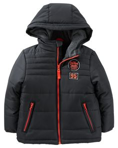 Toddler Boy OshKosh Hooded Heavyweight Puffer Jacket from OshKosh B'gosh. Shop clothing & accessories from a trusted name in kids, toddlers, and baby clothes.