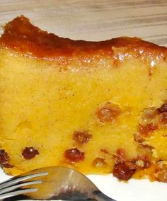 Authentic Jamaican Recipes: Cornmeal Pudding