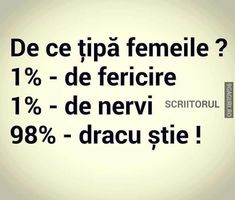 De ce țipă femeile ? Funny Picture Quotes, Funny Pictures, Funny Times, Lol So True, True Words, Puns, True Stories, Texts, Messages