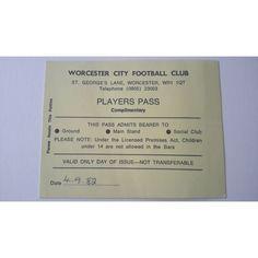 Worcester City v Bath City 1982/1983 Football Ticket Stub Non League Listing in the Non- League,English Club Leagues & Cups,Ticket Stubs,Football (Soccer),Memorabilia & Fan Store,Sport Memorabilia & Cards Category on eBid United Kingdom | 144985525