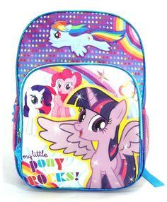 Balo bé gái My Little Pony USA tím