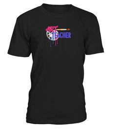 Art Teacher Tee Shirt - Women's Organic  #birthday #september #shirt #gift #ideas #photo #image #gift #study #artteacher #schoolback #Horoscope