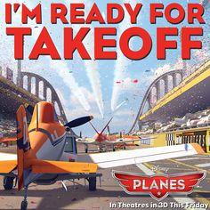 Early boarding starts tonight #DisneyPlanes