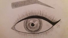 Just a little eye drawing  #drawing#pencil#pencildrawing#eye