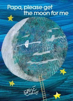 A father will move heaven and earth to delight his daughter in this beloved tale from childrens book legend Eric Carle. Monica wants to play with the moon, but she cant quite seem to reach it. This st