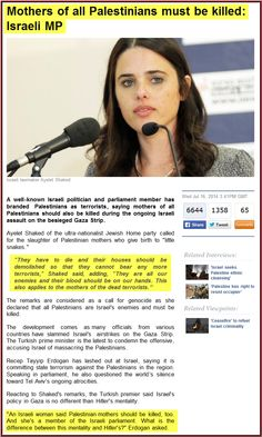 I could see why any Palestinian would feel hatred. There are horrible things said on both sides--calls for genocide on BOTH sides. It's nothing to do with Muslim or Jew....It's called the dark side of HUMANITY.