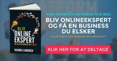 Vind Rasmus Lindgrens nye bog allerede inden den udkommer officielt.