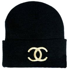 CC Beanie Hat . Embroided ANY colour ($16) ❤ liked on Polyvore
