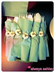 Lifesaver Cutlery and other beach themed party ideas!