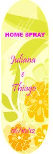 Michele Freitas Artes: Casamento de Juliana e Thiago