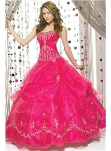 Ball Gown Strapless  Ball Gown (3AE0006)