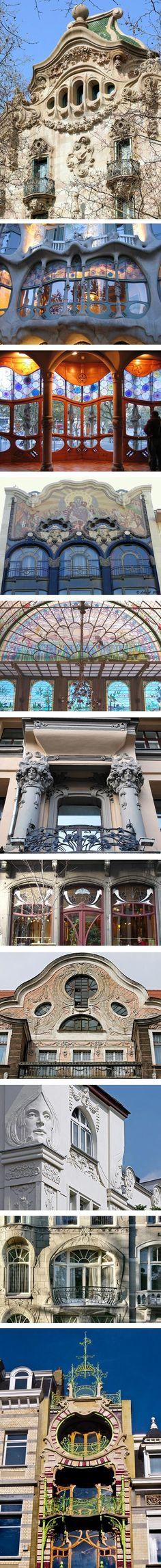Art Nouveau Architecture | art nouveau was a movement that encompassed more than visual art ...