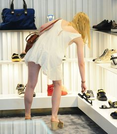 Elle Fanning – Shopping In Beverly Hills, June 2015