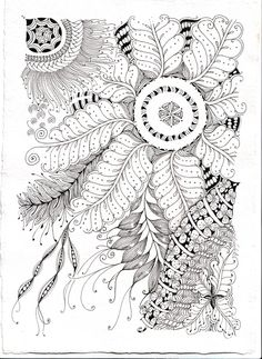 zentangle by shelly bauch