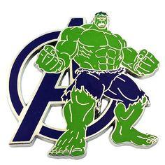 Disney Marvel Avengers Hulk Pin