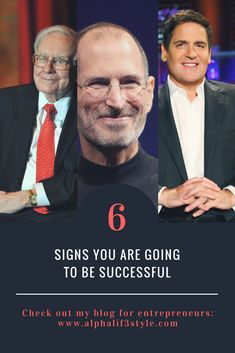 Successful people have a lot in common. They have certain personalities which are essential! Here are six signs you are going to be successful: Successful People, Lifestyle Blog, Entrepreneur, How To Become, About Me Blog, Articles, Rock, Signs, Business