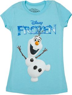 Girls Olaf Frozen Shirt