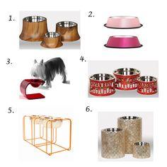 Doggy stylin: Doggy bowls