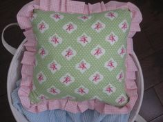 Pillow nursery decor baby nursery decor pink minky by LyLyRosee, $29.00