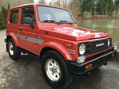 Learn more about Well-Kept Mile 1986 Suzuki Samurai Hardtop on Bring a Trailer, the home of the best vintage and classic cars online. Samurai, Jimny Suzuki, Suzuki Cars, Car Goals, Four Wheel Drive, Classic Cars Online, Old Cars, Cars And Motorcycles, Dream Cars