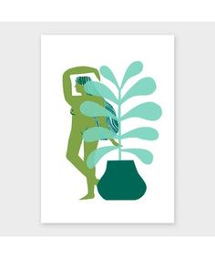 'Willa' by Lucy Ketchin Archipelago, Prints, Art, Craft Art, Kunst
