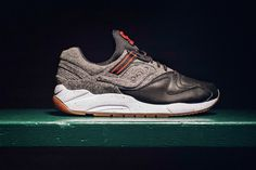 Newly offered up from Saucony Originals is a premium take on the GRID 9000.