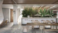 Olea Resort & Spa by architects Tropical Resort, Home Spa Room, Hospitality Design, Hotel Interiors, Hotel Interior, Resort Interior, Spa Decor, Hotel Entrance, Resort Design