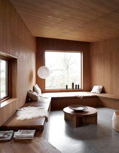 Wienberg Architects. I'm such a sucker for inbuilt seats.