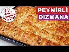 Peynirli Dızmana Tarifi   Dızmana Nasıl Yapılır   Börek Tarifleri   Kadınca Tarifler - YouTube