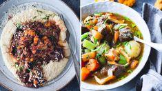 Høsten er uten tvil høysesong for grytemat. Polenta, Bacon, Ethnic Recipes, Food, Meals, Yemek, Eten