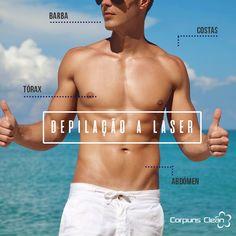 Depilação a laser masculina