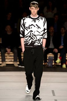 Kenzo Spring 2014 Menswear Collection Slideshow on Style.com