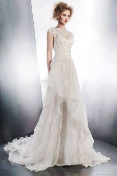 Gemy Maalouf Wedding Dress 2015 Bridal Collection