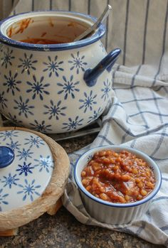 Food Lust People Love: Bourbon Baked Beans #BloggerCLUE