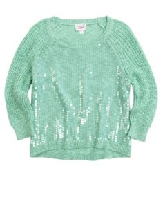 Sequin Pullover Sweater is cute for the winter.....