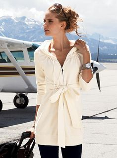 couldn't travel in cream, but gorgeous for lounge wear