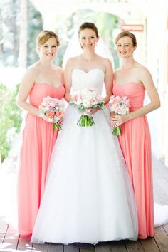 alfred angelo coral bridesmaid dresses
