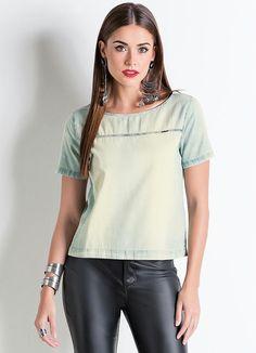 T-Shirt (Jeans) Claro Colcci