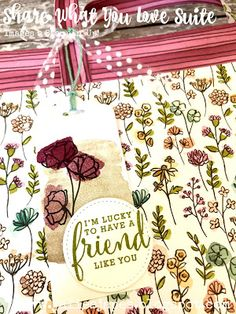 Julie Kettlewell - Stampin Up UK Independent Demonstrator - Order products 24/7: Share What You Love Suite - Large Gift Bag