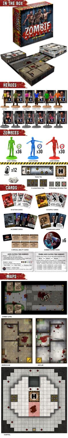 Zombie Mutation™ Game Components