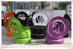 How to reuse old tires :)
