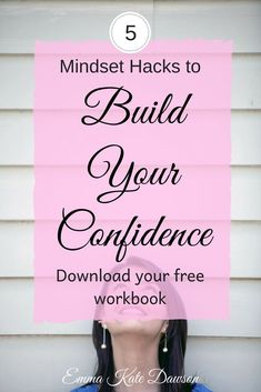 5 Mindset Hacks to build your confidence. Have confidence in yourself. How to have confidence. Self Confidence Tips, Confidence Coaching, Confidence Boosters, Confidence Quotes, Confidence Building, Affirmations Confidence, Body Confidence, Life Coaching, Finding Love