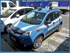 Passione Auto Italiane: Fiat Panda 4x4 Polizia di Stato