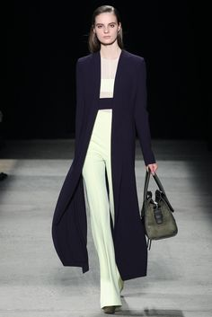 Narciso Rodriguez Fall 2015 Ready-to-Wear Fashion Show - Sophia Ahrens