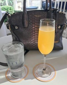 When you're having brunch at Shutters on the Beach, mimosas are essential!